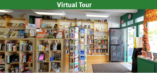 Take a virtual tour of Mill St Books
